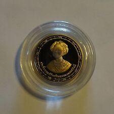 Thailand 10 Baht BE 2533 Y#233 Proof in capsule