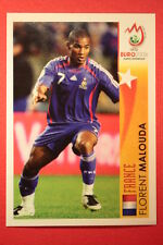 Panini EURO 2008 N. 490 MALOUDA STAR DELL'EUROPEO NEW With BLACK BACK TOPMINT