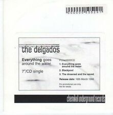 (BC190) The Delgados, Everything Goes Around the- DJ CD