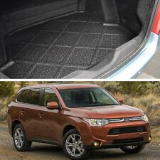 Rear Car Boot Cargo Trunk Mat Tray Floor Mat for Mitsubishi Outlander 2013-2015