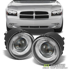 Glass Len 05-09 Charger Caravan Caliber Nitro Pacifica Halo Projector Fog Lights