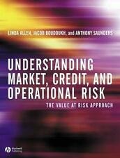 Understanding Market, Credit, and Operational Risk : The Value at Risk Approach