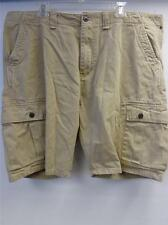 mens CHAPS KHAKI CARGO utility shorts sz 42 CLEAN summer skate surf golf hike