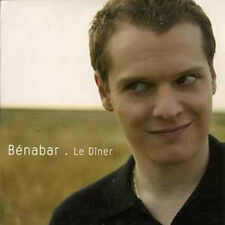 CD Single BENABAR Le diner Promo 1 titre ++++++++++++++