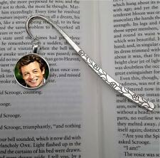 Simon Baker Silver  Tone Metal Bookmark