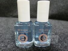 Lot of 2 Essie All In One 3-Way Glaze 13.5ml New
