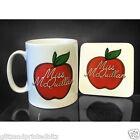 Personalised Thank You Teacher Mug & Coaster Set - Customised Novelty Gift
