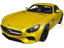 MERCEDES AMG GT S SOLARBEAM YELLOWISH ORANGE 1/18 MODEL CAR BY AUTOART 76314