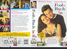 Fools Rush In, Matthew Perry Video Promo Sample Sleeve/Cover #13863