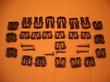 1967-1968 Mustang Coupe - Windshield & Rear Glass Molding Clips