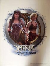 XENA - LITHOGRAPH - XENA & GABRIELLE CHAKRAM POSTER - SIGNED BY ARTIST #6/500