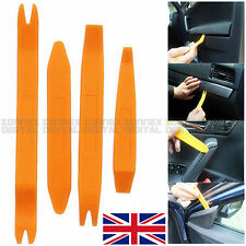 4x Professional Pry Tool Kit Set Interior Trim Panel Removal Tool for VAUXHALL