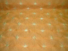 "~BTY~S. HARRIS~MODERN GEOMETRIC ""ENLIGHTEN CARROT""~UPHOLSTERY FABRIC FOR LESS~"