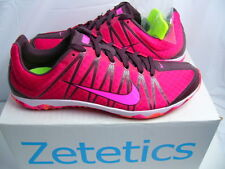 Women's Nike Zoom Rival XC Spike Deep Burgundy Pink 605504 606 Size 6