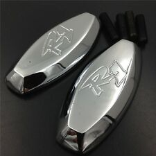 Chrome Mirror Block Off Base Plates For 1998 1999 Yamaha R1 Yzf-R1 Yzfr1