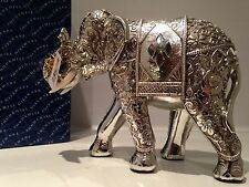 Shudehill Silver Spirit Diamond Mirror Elephant Ornament Gift Figurine