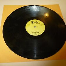 COUNTRY 78 RPM RECORD - GEORGE JONES & JEANETTE HICKS - STARDAY 279