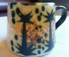 Celtic Newlyn  Pottery  Maggie and Bill Fisher. Single cup.