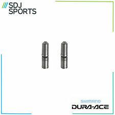 SHIMANO DURA ACE, XTR, XT 9 SPEED CHAIN PINS x 2. CN7700 9 SPD SPLIT PIN GENUINE
