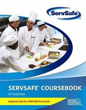 ServSafe CourseBook with Paper/Pencil Answer Sheet Update with 2009 FDA Food Co