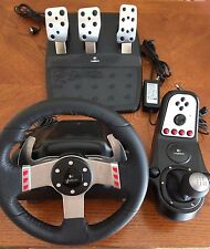 logitech g27 racing wheel + pedals and shifter
