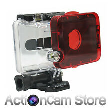 RED FILTER GOPRO HERO2 DIVE HOUSING Polar Pro Snap On Hero 2