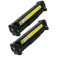 2PK CF212A 131A Yellow Toner Cartridge For HP LaserJet Pro 200 M251nw M276nw