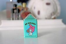 Vintage 1985 Sanrio MY MELODY Eraser w/ CASE Hello Kitty Anime KAWAII New Japan