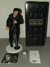 "ELVIS PRESLEY Ashton Drake Galleries ""The '68 Comeback Special"" Porcelain Doll"