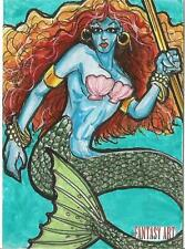 Fantasy Art Sketch Card by Dave Sharpe /4 - Unstoppable Loaded Pack Release