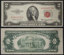 STATI UNITI/USA 2 DOLLARS 1953 B SMALL SIZE (PICK:#380 b) #B943