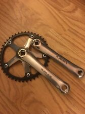 Shimano Dura Ace NJS Track Cranks. Crankset. Pista. Off A Show Bike. Very Good.