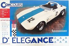 Corvette Grand Sport Concours d'Elegance Poster - George Wintersteen GS no. 2