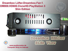 Dreambox Lüfter.Dreambox.Fan f. DM800.HD600.CloneHD.PlayStation 3 Slim Edition