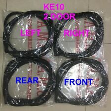 FOR TOYOTA COROLLA KE10  KE11 2 DOOR SEDAN SET OF WEATHERSTRIP RUBBER SEAL 5PCS