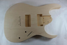 Basswood Guitar body fits EMG707, Ibanez (tm) 7 string RG and UV Necks P224