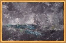 Storm in the Skerries. The Flying Dutchman August Strindberg Sturm B A1 00727