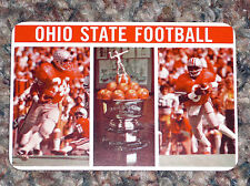 1977 Ohio State Football Pocket Schedule