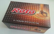 36 -1.7 oz Rolls Rolo Chewy caramel in milk chocolate Candy,the Hershey Company