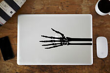Esqueleto Mano Vinilo Decal Sticker Para Apple Macbook air/pro 13 ""
