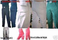 Arbeitsbundhose kornblau schlanken Größe 102 100% Baumwolle Texxor Hose