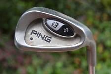 PING I3+ 9 iron  BLACK DOT CS LITE STEEL SHAFT GREEN BLUE WHITE RED