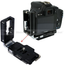 Vertical Quick Release Plate for Ball Head Canon EOS 6D 5DS Camera Battery Grip