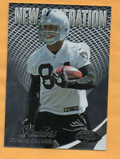 2012 CERTIFIED FOOTBALL JURON CRINER NEW GENERATION CARD /999