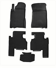 SSANG YONG KYRON 2007- Rubber Car Floor Mats All Weather Alfombras Goma Carmats