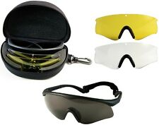 Sunglasses Military & Police Fire-Tec Interchangable Sport Glass System 10337
