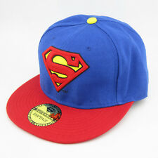 New Classic Red Blue Adjustable baseball Snapback Superman hiphop flat Hat cap