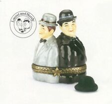 Laurel and Hardy  PHB Porcelain Hinged Box by Midwest of Cannon Falls