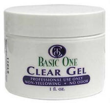 Christrio Basic One - Clear Gel - 1oz / 28g - One Step UV Gel