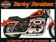 HARLEY DAVIDSON XL 1200 Sportster 50th Anniversary Technique Walt Siegl MOTO HD